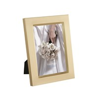 Vera Wang Wedgwood Grosgrain Gold Photo Frame 4X6