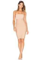 Commando Two Faced Tech Control Strapless Slip Beige