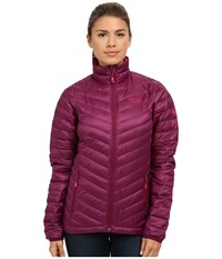 Mountain Hardwear Nitrous Down Jacket Dark Raspberry Women's Jacket Red