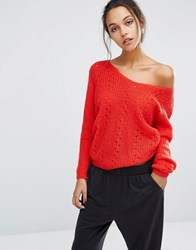 Suncoo Knitted Jumper Rouge Red