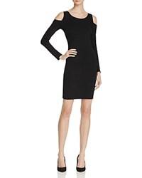 Necessary Objects Cold Shoulder Dress Compare At 108 Black