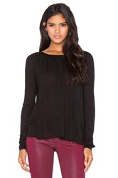 Lamade Micromodal Isabel Top Black
