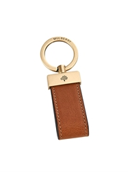 Mulberry Leather Loop Key Ring