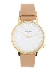 Komono Wrist Watches White