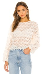 House Of Harlow 1960 X Revolve Sondra Top In Ivory.
