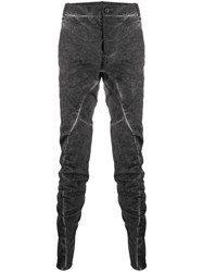Masnada Ruched Slim Fit Trousers 60