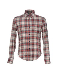 Band Of Outsiders Shirts Shirts Men Red