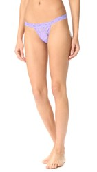 Hanky Panky Signature Lace G String Thong Hyacinth