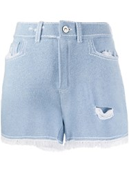 Barrie Fringed Trim Shorts 60