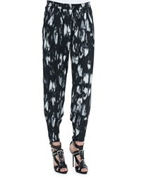 Haute Hippie Champ Ikat Print Relaxed Pants