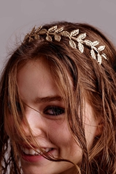 Urban Outfitters Athena Headband Gold