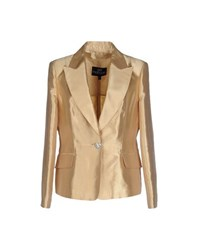Gai Mattiolo Couture Suits And Jackets Blazers Women Gold