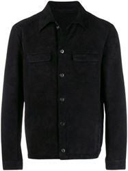 Salvatore Santoro Button Up Jacket Black