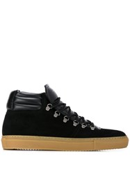 Zespa Hi Top Sneakers Black