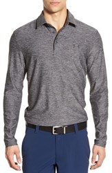 Men's Under Armour 'Captain's Choice' Long Sleeve Moisture Wicking Golf Polo