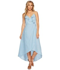 Lucy Love Alter Your Mood Dress Chambray Women's Dress White