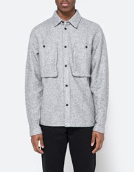 Native Youth Norite Shacket Grey