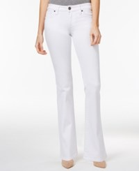 Kut From The Kloth Natalie Bootcut Jeans White