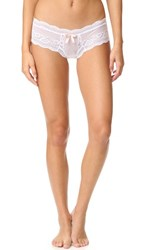 Eberjey Anouk Boy Thong White