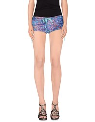 F K Project Trousers Shorts Women Blue