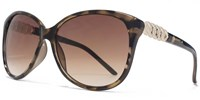 Carvela 26Car036 Tort Black Cateye Sunglasses