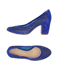 Luca Stefani Pumps Blue