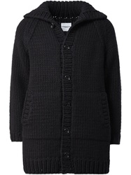 The Soloist Chunky Knit Cardigan Black