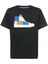 Mostly Heard Rarely Seen Patchwork Sneaker T Shirt Cotton Xl Black