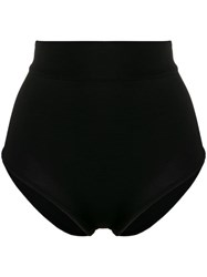 Balmain High Waisted Briefs Black
