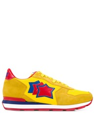 Atlantic Stars Star Patch Sneakers Yellow