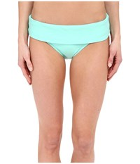 Next By Athena Good Karma Banded Retro Aquamist Women's Swimwear Blue