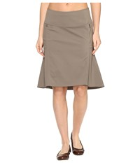 Royal Robbins Discovery Strider Skirt Taupe Women's Skirt