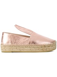 Minna Parikka Platform Espadrilles Pink And Purple