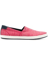 Tommy Hilfiger Slip On Sneakers Red