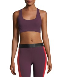 Monreal London Essential Performance Sports Bra Dark Red
