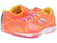 Newton Running Motion V Coral Yellow Women's Running Shoes Red