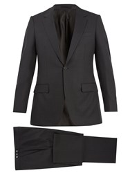 Kilgour Single Breasted Wool Blend Suit Grey