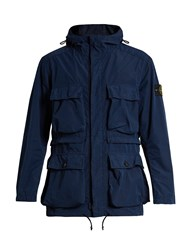 Stone Island David Tela Light Tc Field Jacket Blue