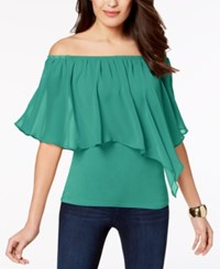 Thalia Sodi Convertible Off The Shoulder Top Created For Macy's Jade