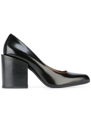 Marni Block Heel Pumps Black