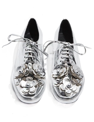 Pixie Market Jeffrey Campbell Novak Floral Brogue Shoes