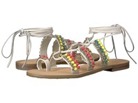 Ivanka Trump Monday Ivory Leather Tendre Women's Sandals Multi