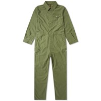 Nigel Cabourn Lybro Military Coveralls Green