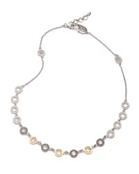 Opera Crystal And Diamond Short Necklace Coomi Red