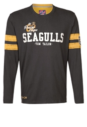 Tom Tailor Seagulls Long Sleeved Top Tarmac Grey Anthracite