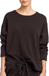 James Perse Relaxed Luxe Sweatshirt Carbon