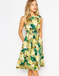 Emily And Fin Emily And Fin Lucy Midi Dress Green