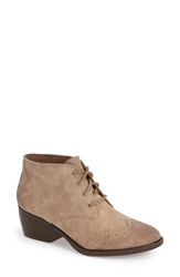 Bc Footwear 'Ally' Bootie Women Taupe Faux Leather