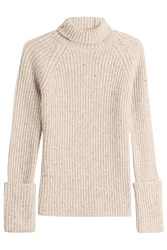Joseph Wool Turtleneck Beige