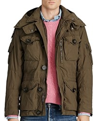 Polo Ralph Lauren Hooded Utility Jacket Litchfield Olive